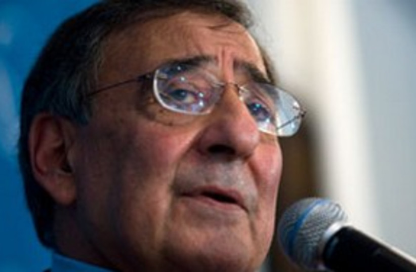 Panetta 311 (photo credit: Associated Press)