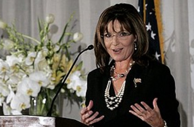 Sarah Palin 311 (photo credit: Associated Press)