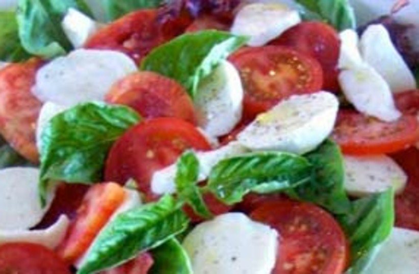 tomato salad (photo credit: gourmetkoshercooking.com)