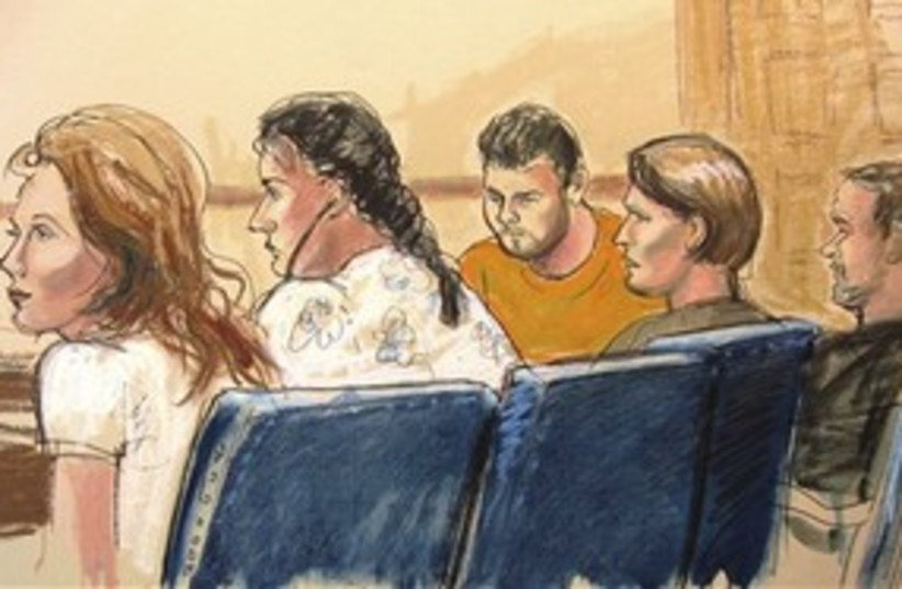 Russian spy suspects in court 311 AP (photo credit: Associated Press)