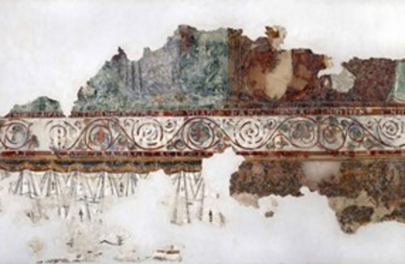 Israel museum fresco 311 (photo credit: Courtesy)