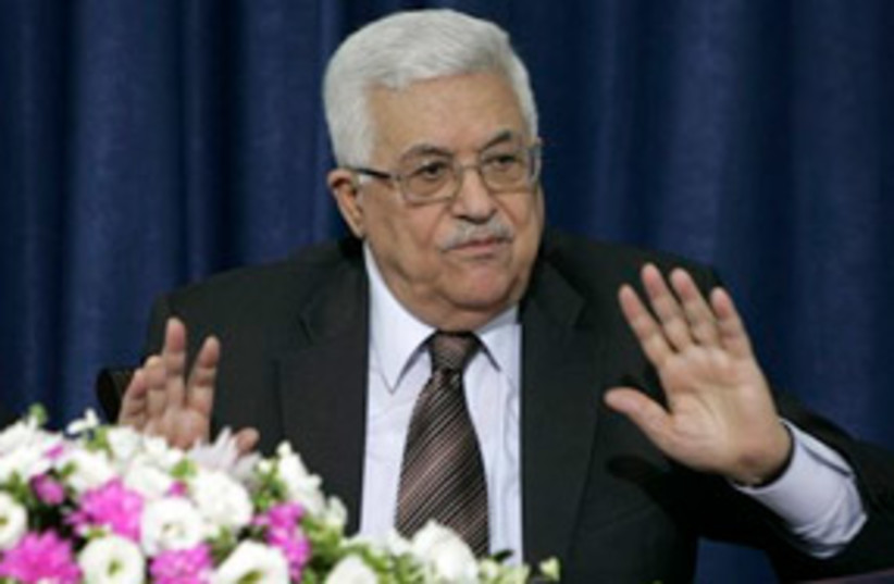 Mahmoud Abbas what 311 (photo credit: Associated Press)