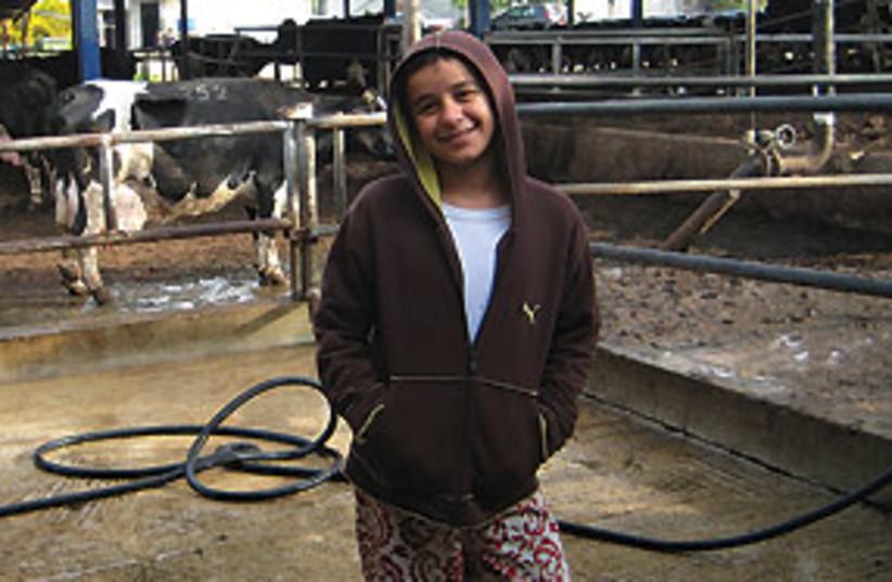 kid at hakfar hayarok 311 (photo credit: Courtesy)