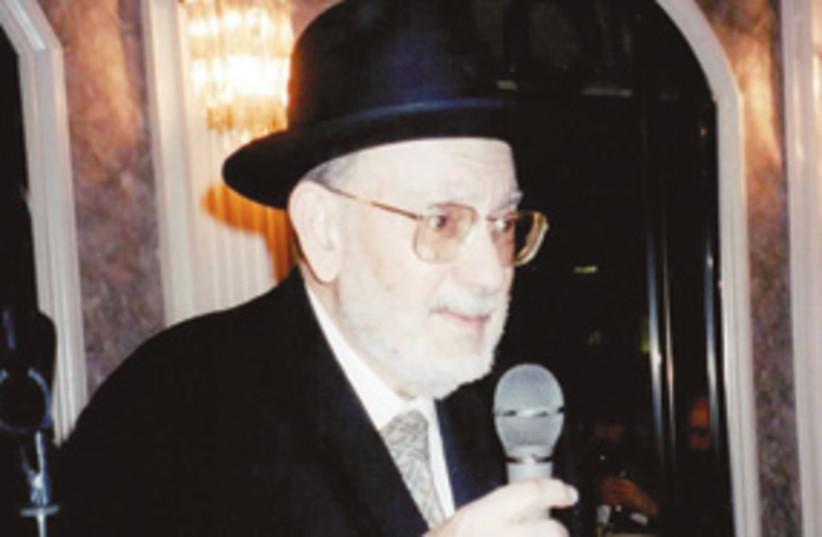 Rabbi Yehuda Benasouli 311 (photo credit: Courtesy)