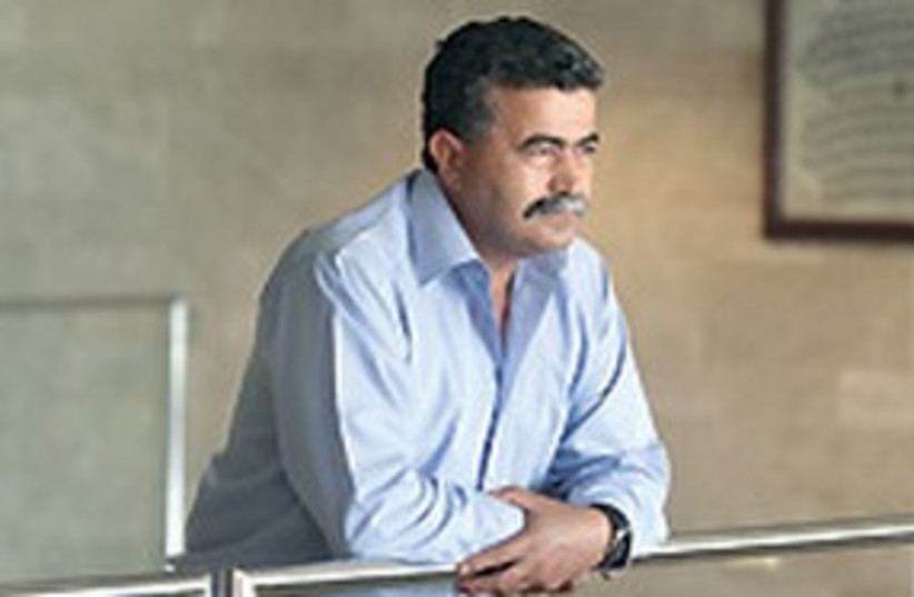311_ amir peretz (photo credit: Ariel Jerozolimski/The Jerusalem Post))