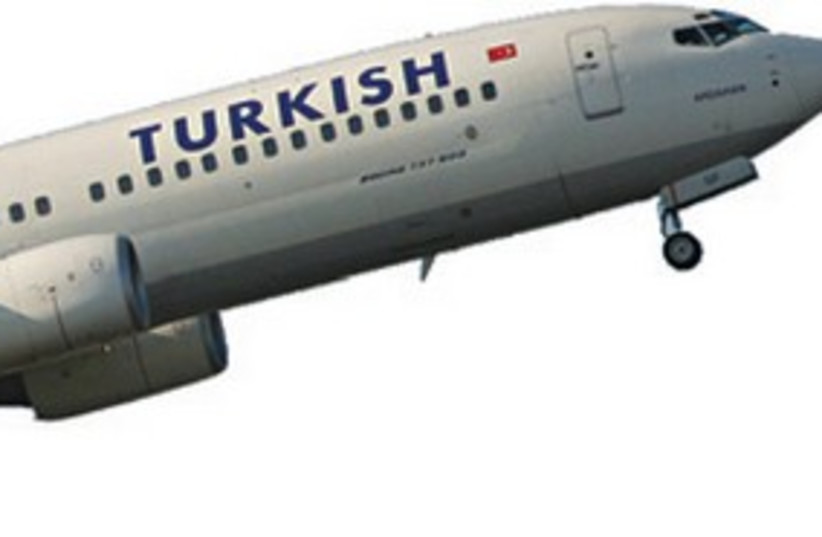 Turkish Plane 311 (photo credit: Courtesy)