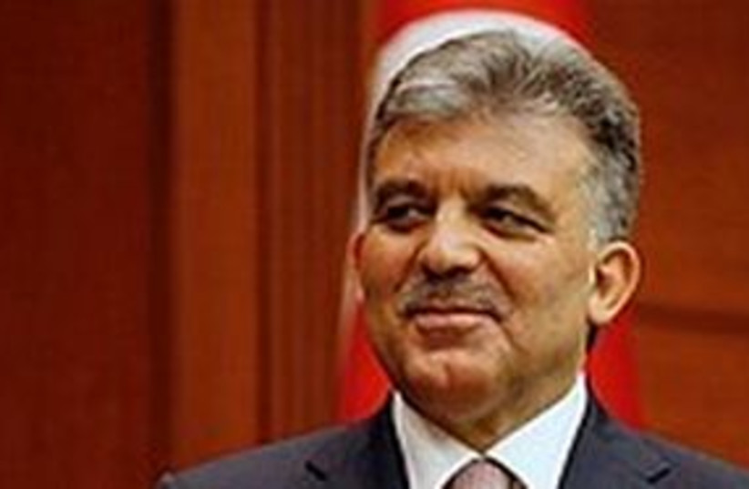 Abdullah Gul 311 (photo credit: AP)