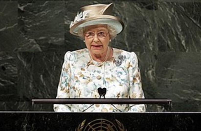 queen speaks at UN 311 ap (photo credit: Associated Press)