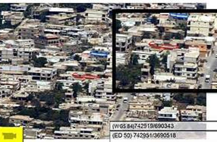 Hizbullah village 311 (photo credit: IDF Spokespersons Unit)