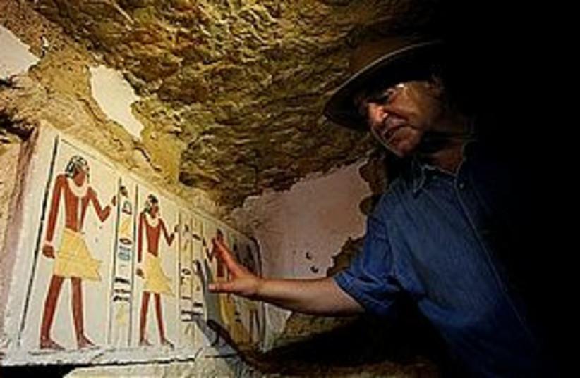 egypt tombs 311 (photo credit: Associated Press)