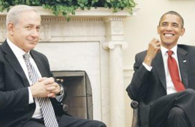 Obama Netanyahu 311 (photo credit: Associated Press)