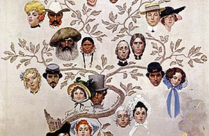 family tree (photo credit: Norman Rockwell)
