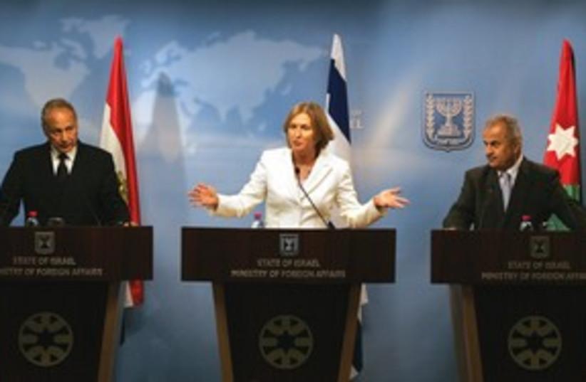 Livni 311 (photo credit: Associated Press)