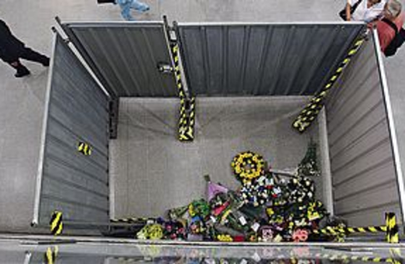 Floral Tribute London 311 (photo credit: Associated Press)