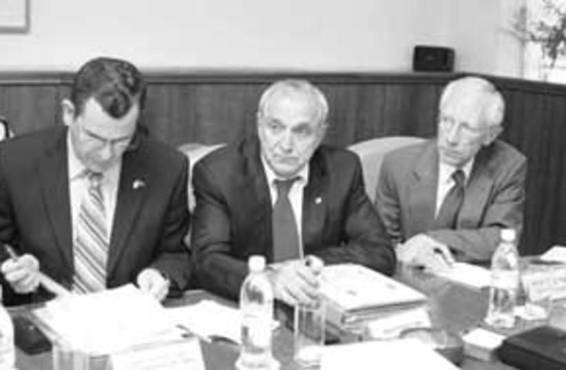 july 16 budget meeting 8 (photo credit: Ariel Jerozolimski)