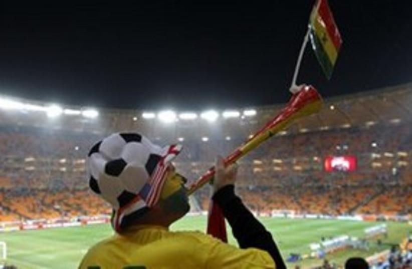 vuvuzela 311 (photo credit: Associated Press)