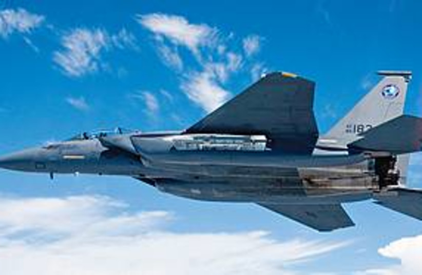 f-15 silent eagle 311 (photo credit: Courtesy Boeing Co.)