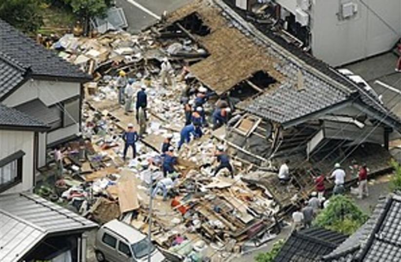 japan quake 298.88 (photo credit: AP/Kyodo News)