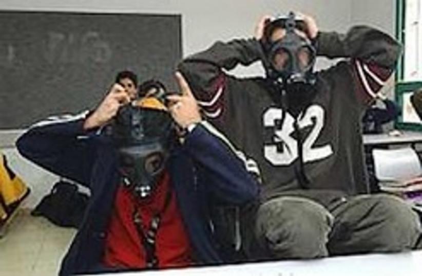 gas masks 3 224.88 (photo credit: Ariel Jerozolimski [file])