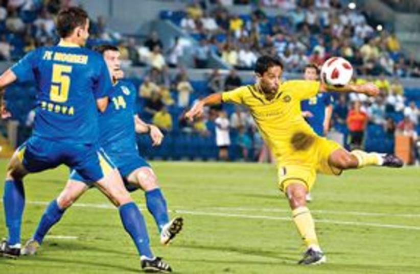 Maccabi Tel Aviv 311 (photo credit: Asaf Kliger)