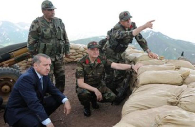 erdogan briefed 311 (photo credit: Associated Press)