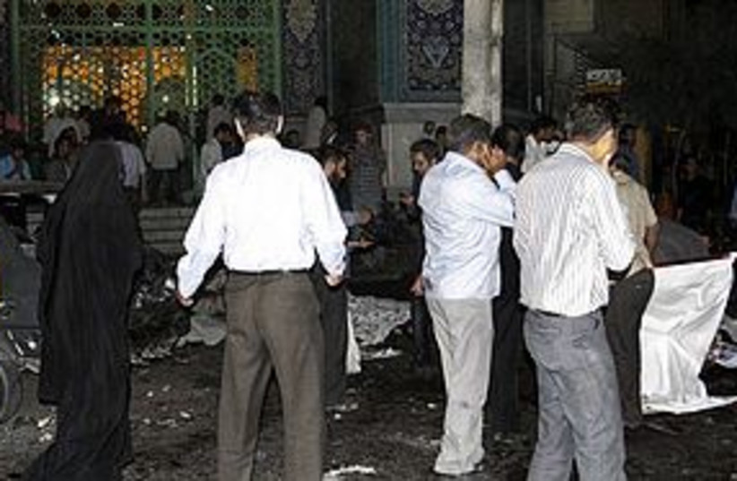 Iran Jundallah Bombing AP 311 (photo credit: Associated Press)