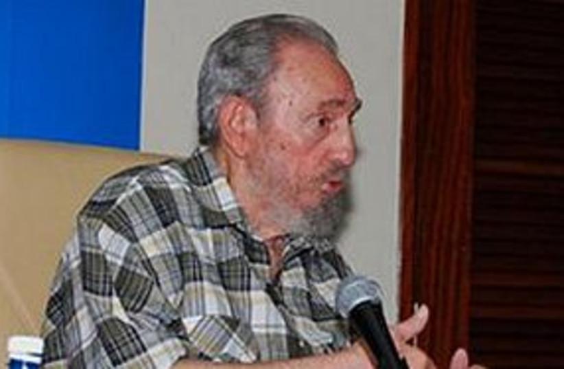 Fidel Castro AP 311 (photo credit: Associated Press)