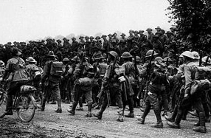 WWI Australian Army 311 (photo credit: Wikipedia Commons)