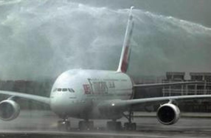 Emirates 311 (photo credit: Associated Press)