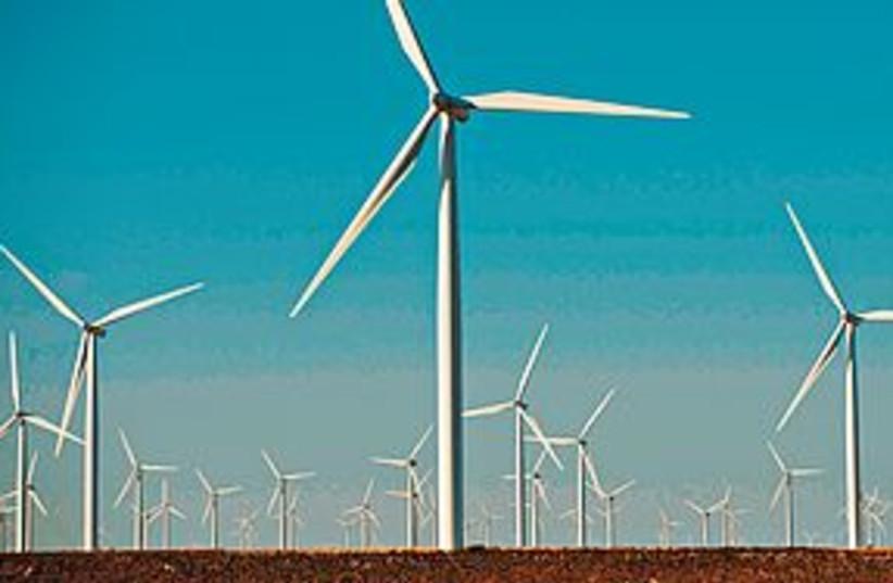 Wind turbines (photo credit: Courtesy)