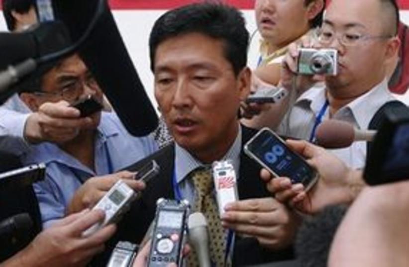 Ri Tong Il 311 (photo credit: Associated Press)