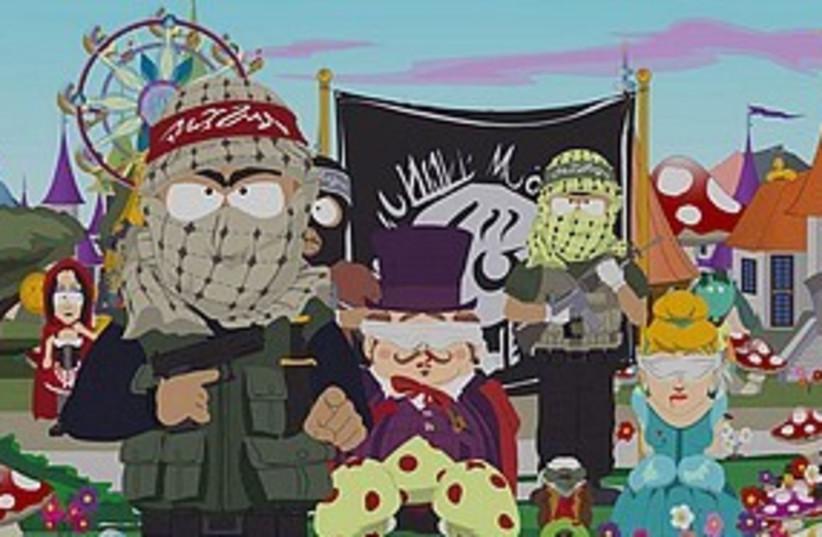 South Park terrorists 311 (photo credit: Courtesy)