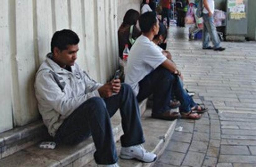 Migrant Workers 311 (photo credit: Illustrative photo/ Mya Guarnieri)