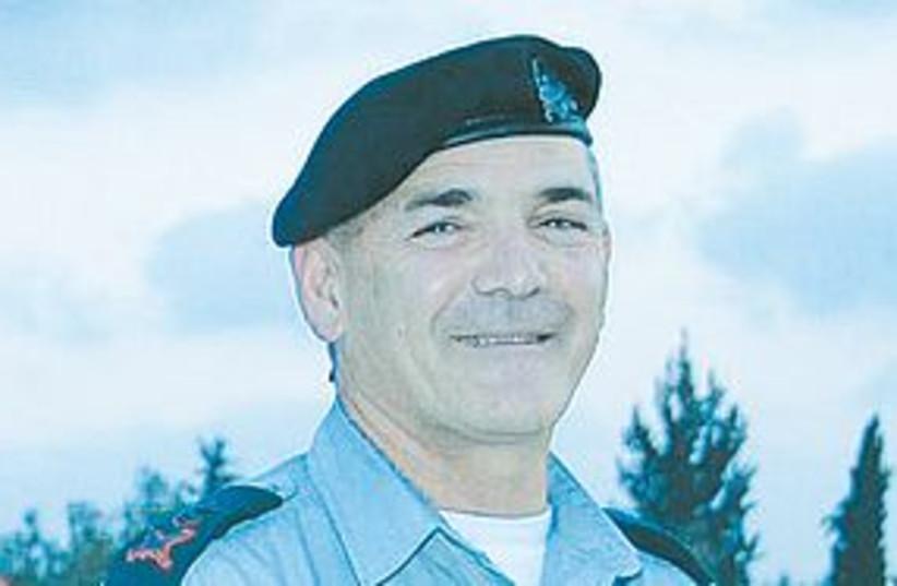 Maj.-Gen Mizrahi 311 (photo credit: IDF Spokesperson)