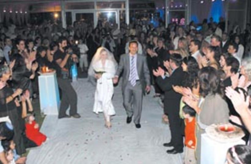 wedding biz 88 298 (photo credit: Ariel Jerozolimski)
