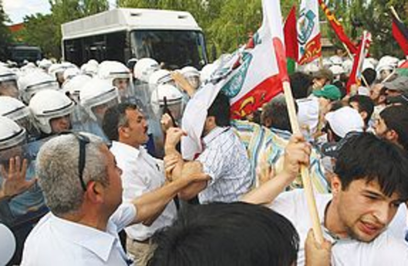 Ankara Rally 311 (photo credit: Associated Press)