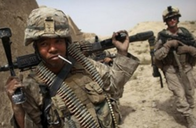 Afghan Soldier (photo credit: Associated Press)