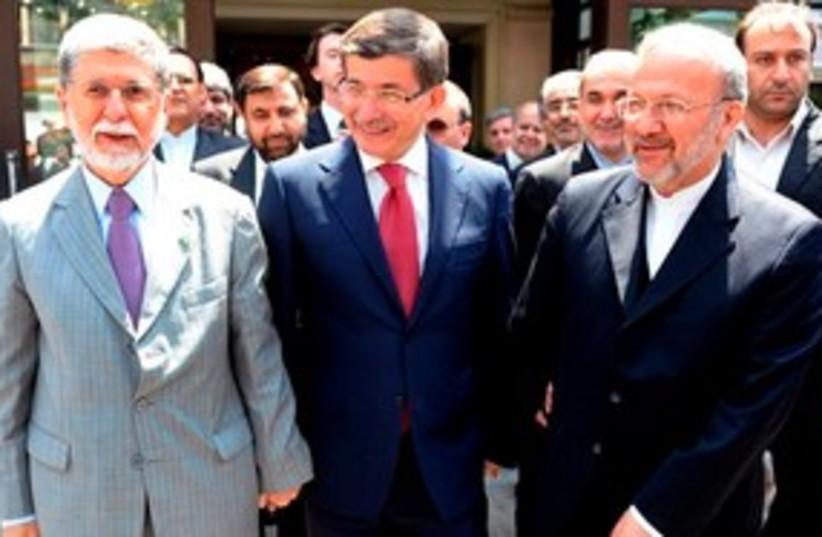 Turkey Brazil Iran 311 (photo credit: Associated Press)