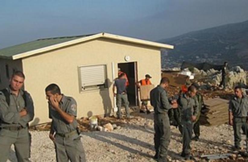 Demolition Samaria (photo credit: Shimshon Suchi, Samaria Settlers' Committee)