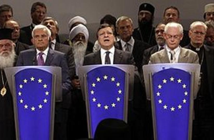 EU conference 311 (photo credit: Associated Press)