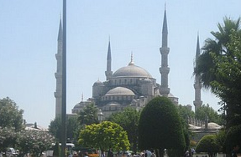 blue mosque istanbul 311 (photo credit: Elana Kirsh)