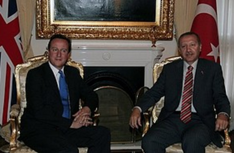 David Cameron Erdogan 311 AP (photo credit: Associated Press)