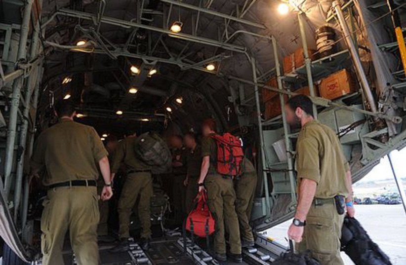IDF organized a search force in Romania during the early morning.
