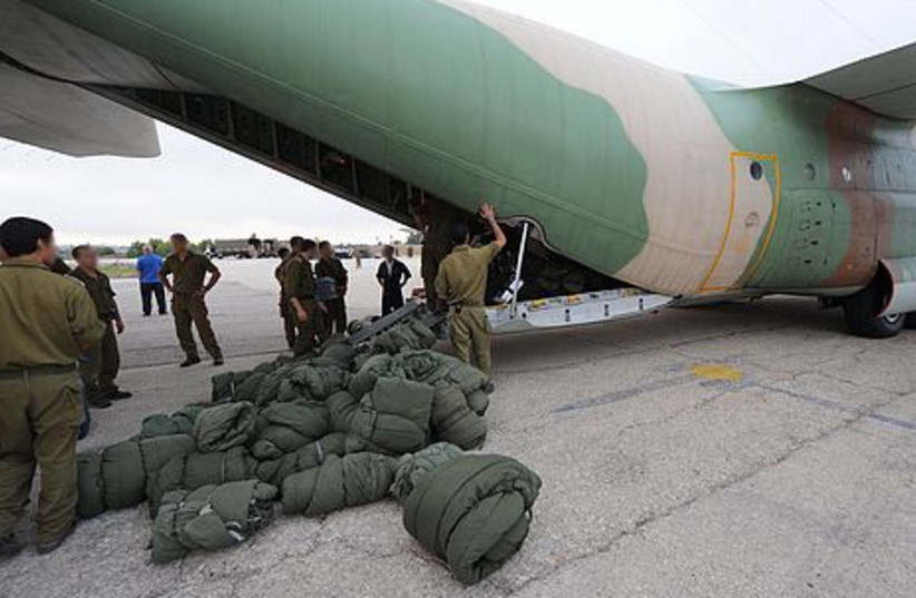 IDF organized a search force in Romania during the early morning Tuesday.
