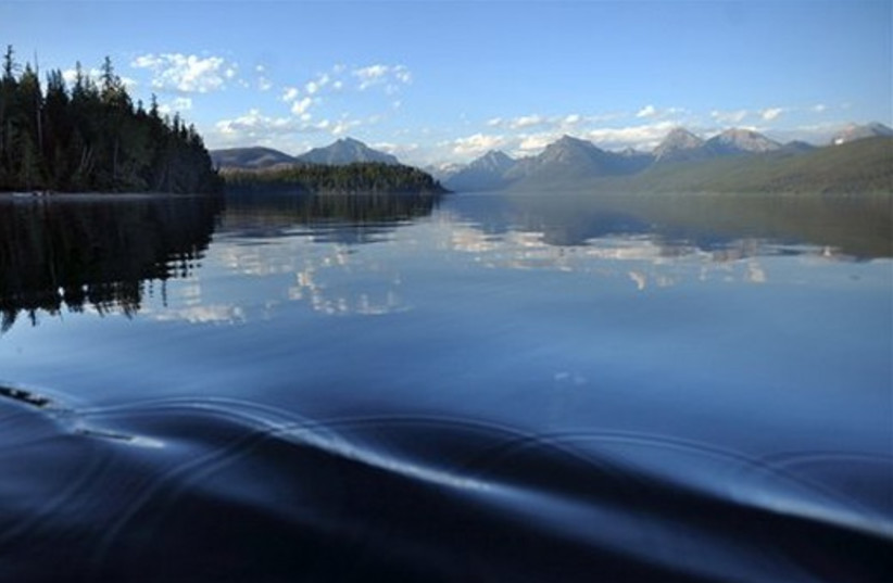 Glacier national park, Montana (photo credit: AP)