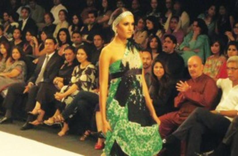 Pakistan fashion week (photo credit: Saeed Shah/MCT)