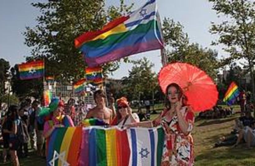 Jerusalem Gay Pride Parade (photo credit: Marc Israel Sellem)