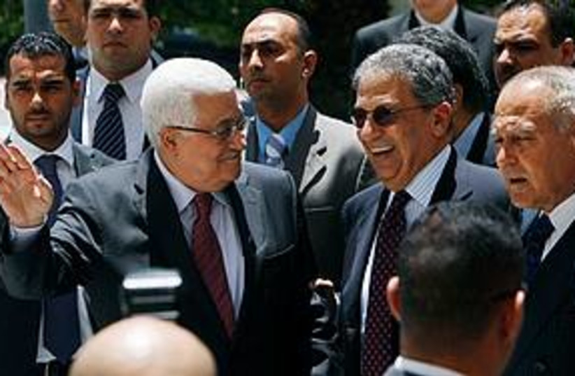 Abbas Arab League (photo credit: Associated Press)