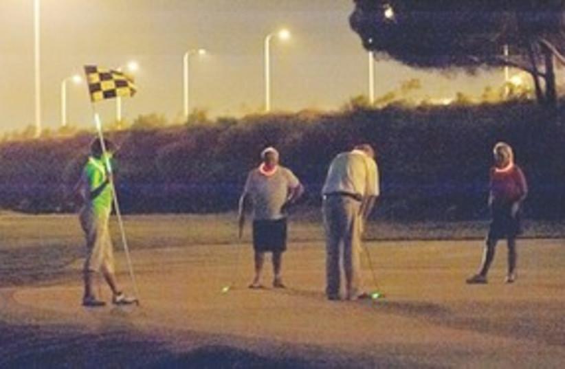 311_night golf (photo credit: Yaro Brill)