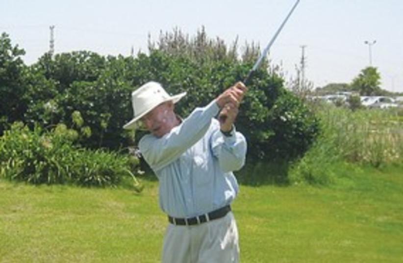 311_ Old man golfing (photo credit: Courtesy)